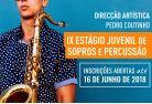 Está de volta o Estágio Juvenil de Sopros e Percussão no Conservatório de Música de Lagoa