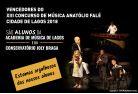 Vencedores do XIII Concurso de Música Anatólio Falé Cidade de Lagos 2018
