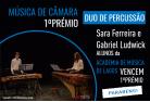 Sara Ferreira e Gabriel Ludwick vencem o 1ºprémio no XIII Concurso de Música Anatólio Falé Cidade de Lagos 2018