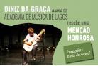 Diniz da Graça recebe menção honrosa no XII Concurso de Música Anatólio Falé Cidade de Lagos 2018