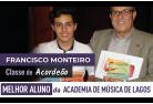 Francisco Monteiro foi nomeado como Melhor Aluno da Academia de Música de Lagos!