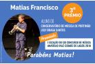 Matias Francisco vence o 3ºPrémio do IºEscalão do XIII Concurso de Música Anatólio Falé Cidade de Lagos 2018